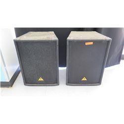 Qty 2 Behringer Speakers (RM-Stdnt Center)