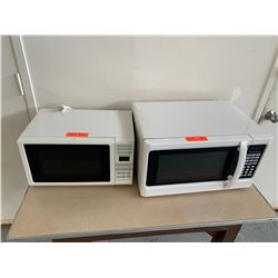 Qty 2 White Microwave Ovens (RM-Stdnt Center)