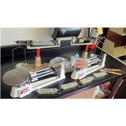 Misc. Triple Beam Balances Scales (RM-221)