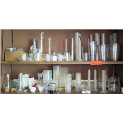 Misc. Lot of Beakers and Chemistry Equipment (RM-221)