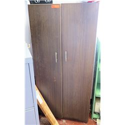 Wooden Storage Cabinet w/ Contents (RM-221)