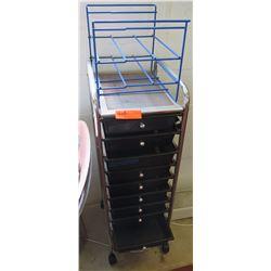 Rolling Rack w/ Plastic Drawers (RM-221)