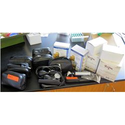 Stethoscopes, Blood Pressure Monitor, Tongue Depressors (RM-221)