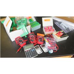 Multimeters, Calculators, Photogate Clamps, Stopwatches, etc. (RM-221)