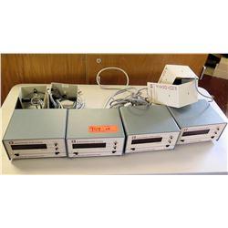 Qty 4 Electronic Stop Clocks (RM-221)