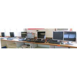 Qty 6 Dell Monitors w/ Keyboards (RM-221)