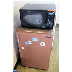 Sharp Microwave w/ Mini Fridge (RM-221)