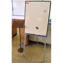 Whiteboard w/ Presentation Stand (RM-221)