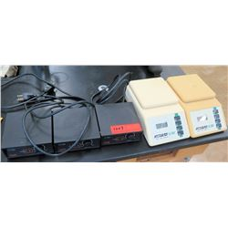 Qty 3 Hanna Magnetic Stirrers, Qty 2 Acculab Scales (RM-121)