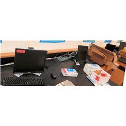 Qty 4 Dell Monitors w/ Keyboards (RM-121)