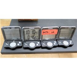 Qty 4 Control Company Timer Clocks (RM-121)