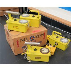 Geiger Radiation Meters (RM-121)