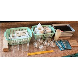 Trays, Porcelain Coors Mortars, etc. (RM-122)