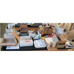 Large Lot of Test Tubes, Corks, Science Instruments (RM-122)