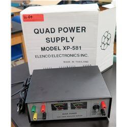 Elenco Precision Quad Power Supply Model XP-581 (RM-122)