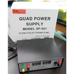 Elenco Precision Quad Power Supply Model XP-581 (RM-122)