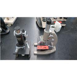 Qty 2 Kyowa & Regal Microscopes w/ Objectives (RM-122)