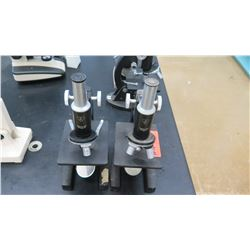 Qty Bausch & Lomb Microscopes w/ Objectives (RM-122)