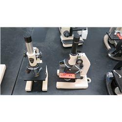 Qty 2 Swift Microscopes w/ Objectives (RM-122)