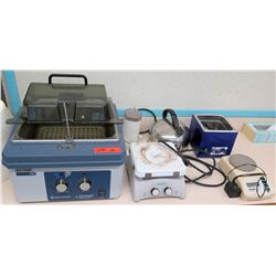 Fisher Scientific IsoTemp 110, Hot Plates, Coffee Grinder (RM-122)
