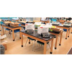 Qty 12 Tables w/ Chairs (RM-122)