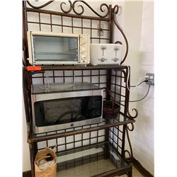 Wooden Shelving/Rack, Microwave, Toaster Oven, etc. (RM-406)