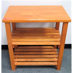 Wooden Side Table (RM-501)