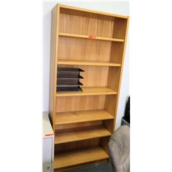 Tall Wooden Shelving Unit (RM-501)
