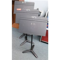 Qty 3 Music Stands (CONF.RM)