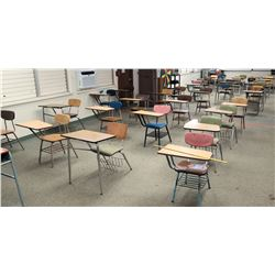 Qty 44 Desks w/ Chairs (RM-608)