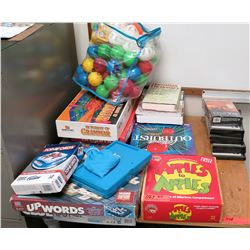 Misc. Board Games, Books, Movies (RM-608)