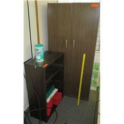 Wooden Storage Cabinet w/ Wooden Shelf (RM-608)