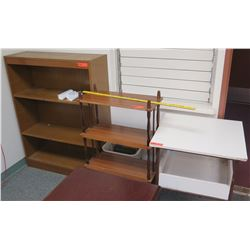 Qty 3 Shelving Units (RM-607)