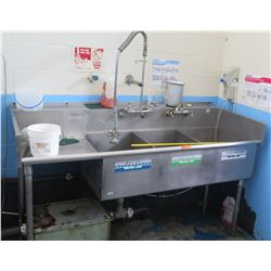 Stainless 3-Basin Sink (RM-Kitchen)