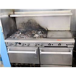 Imperial 6-Burner Stove Top w/ 2 Ovens (RM-Kitchen)