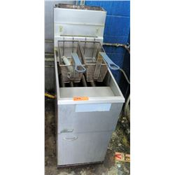 Pitco Stainless Steel Floor Fryer (RM-Kitchen)