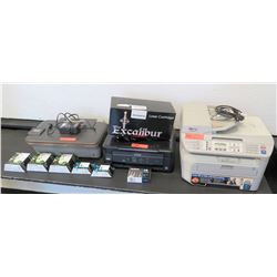 Qty 3 Printers: Brother MFC-7345, Epson XP-320, HP 3051A Deskjet (RM-204)