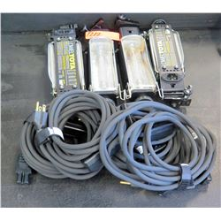 Qty 4 Lowel Light Units (RM-204)