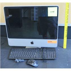 Apple Mac Computer w/ Keyboard & Mouse