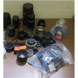 Misc. Camera Lenses, Cases, Misc Accessories, etc. (RM-204)