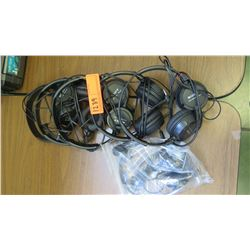Sony Audio Headsets (RM-204)