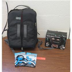 Utopia 360 Virtual Reality Headset & Padded Camera Backpack Case (RM-204)