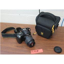 Nikon D40 Digital Camera, Lens, Case (RM-204)