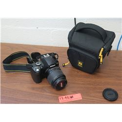 Nikon D40 Digital Camera, Lens, Case (RM-204)