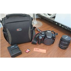 Canon EOS Rebel T3 Digital Camera, Lens, Battery Charger, Case (RM-204)