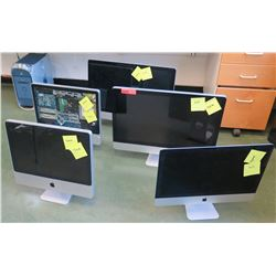 Qty 5 Apple Mac Computers (marked broken) (RM-204)