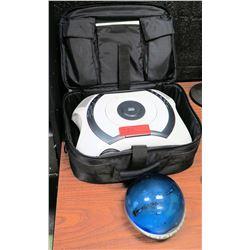 MovieTime Digital DVD Projector w/ Case & Sharper Image Info Globe (RM-204)