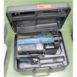 GE Video Camera w/ Case, Model CG9825 (RM-204)