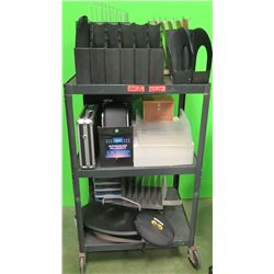 Contents of Cart: Carrying Cases, Office Organizers, etc. (cart not included) (RM-204)