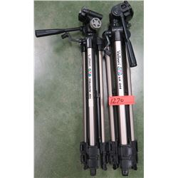 Qty 2 Velbon Camera Tripods (RM-204)